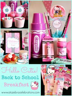 #HelloKitty back to school party