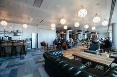 open workspace. bar. lounge.