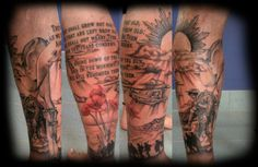 anzac tattoo - Google Search