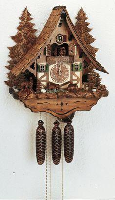 I love cuckoo clocks!