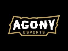 Agony eSports Wordmark by Kyle Papple