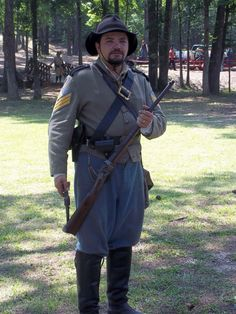 CSA Cavalry first sergeant. Double click on image to ENLARGE.