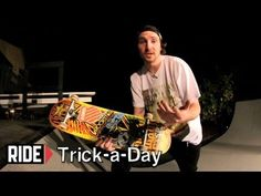 Learn a new trick each and every day from top pros. You'll get step-by-step instructions on how to master every trick in skateboarding! Tune in seven days a week to learn something new.      Today Greg Lutzka shows you how to Kickflip Nosestall