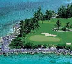 Golfing in Tahiti