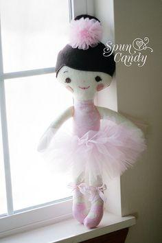 The Signature Spun Candy Ballerina Dolls  by MelissaMullinax, $95.00