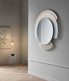 Glass Furniture by Cristina Celestino for Tonelli - Design Milk Glass Furniture, Furniture Design, Armoire Rose, Decor Interior Design, Interior Decorating, Cristina Celestino, Pink Closet, Spiegel Design, Mirror Inspiration