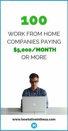 Looking to quite your job and work from home? These companies/websites may be great substitutes, or even better. Check it out! www.howtoliveinth...