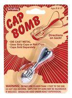 CAP BOMB Grenade rocket metal toy paper/plastic gun caps BOY STOCKING STUFFER