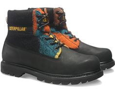 Men's Colorado boot in Black Multi for #AW15 #catboots #OnlineExclusive