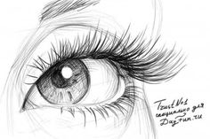 How to draw eyelashes step by step 5