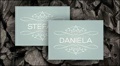 WeddingEve by Hüfner Design  Design: Simple Pomp  Save the Date Karte, Einladungskarte, Menükarte, Tischkarte, Danksagungskarte, Buttons