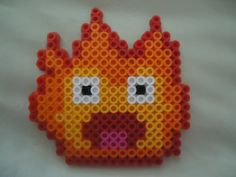 Calcifer from Howl's Moving Castle by PerlerHime - Kandi Photos on Kandi Patterns