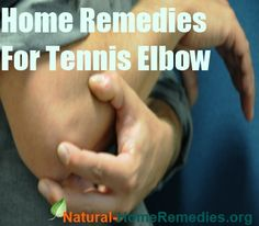 Home #Remedies for Tennis Elbow