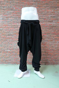 OMMME harem pants 001 black by Ommme on Etsy