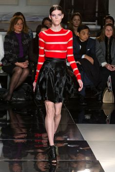 Jason Wu Fall 2013 RTW. Gawd, I love black and red, and Jason Wu makes beautiful clothes.