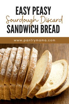 Easy Sourdough Discard Sandwich Bread - The Pantry Mama