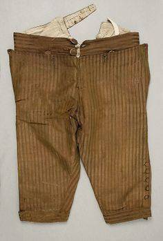 Breeches  Date:     late 18th century Culture:     European Medium:     silk Dimensions:     [no dimensions available] Credit Line:     Gift... Accession Number:     C.I.39.13.38