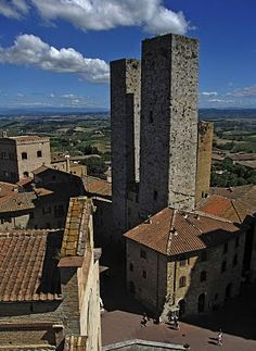 San Gimignano, Toscane