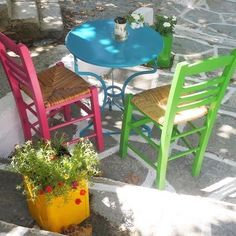 Greece Islands, Outdoor Furniture Sets, Outdoor Decor, Street Photo, Greece Travel, Key West, Where To Go, Photo And Video, Architecture