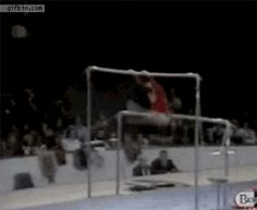 Belly flip? Nailed it. | 17 Gymnasts Who Totally Nailed It!