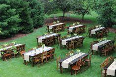 Beautiful Louisville backyard graduation party!