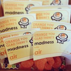 March madness favors