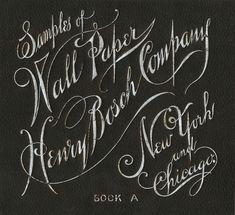 Henry Bosch Company / Wall Paper | Sheaff : ephemera