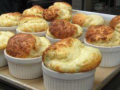 Yum, I think I will put the Kitchenaid to work to make this cheese souffle!