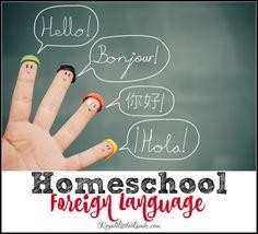 Homeschool Foreign Language options