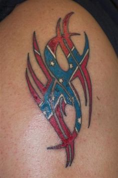 Top Confederate Flag Tattoos Designs Tattoo Tattoo's in Lists for . Rebel Flag Tattoos, Patriotic Tattoos, Star Tattoos, Love Tattoos, Body Art Tattoos, Tribal Tattoos, Redneck Tattoos, Funny Tattoos