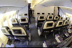 ANA Boeing 777-381/ER interior aircraft picture