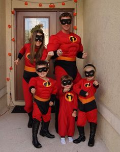 Incredibles Family Halloween Costume