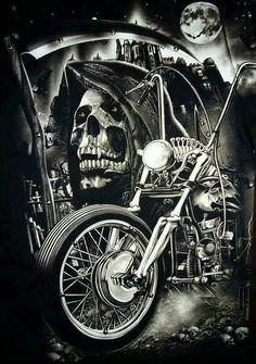 Grim Reaper/Motorcycle