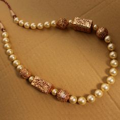 DEEMA GOLDEN BALLS NECKLACE Indiatrend  $65.99USD
