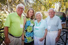 Emmanuel College Alumni St. Patrick's Event | Naples, FL | 3.15.14 - John Clark, Jane Boland Clark '75, Carol Doane Callahan '52 and James Callahan