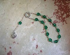 Gaia (Gaea) Mini Prayer Beads: Mother Earth, Mother of the Gods, Mother of All That Is by HearthfireHandworks on Etsy