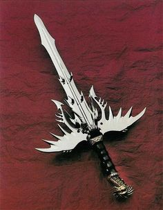 I chose this sword as it has multiple blades and could be used in many efficient ways in combat Swords And Daggers, Knives And Swords, Medieval, Armas Ninja, Cool Swords, Sword Design, Guns, Knife Art, Japanese Sword