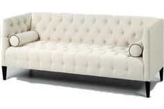 New Arrival - Old hollywood Regency Style Sofa. Glamorous Sofa for living room. Tufted sofa. Madison Tufted Sofa