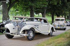 1935 Mercedes-Benz 500K (Kompressor, 500 K, Five-hundred, W 29) | Conceptcarz.com
