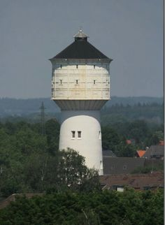 Wasserturm in Neumünster. Water #towers are being converted into housing solutions all over the world. #watertower