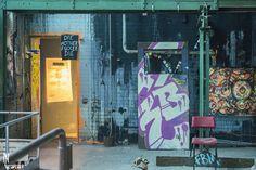Graffiti at old GDR Factory in Berlin - NL Art