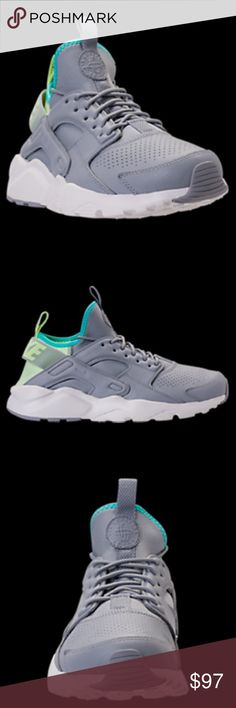 Men's Nike Air Huarache Run Ultra SE Casual Shoes Enjoy a featherweight update to an iconic silhouette with the Men's Nike Air Huarache Run Ultra SE Casual Shoes. A new neoprene bootie construction offers a snug and flexible fit. Rubber pods are strategically placed for durability and traction, while a pull tab on the ankle and tongue provides an easy on and off. The elastic strap and rubber cage on the heel provides the classic Huarache look. Nike Shoes Athletic Shoes