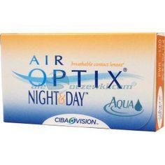Soczewki kontaktowe AirOptix Night & Day Aqua 6 szt. BC 8.6 - soczewki miesięczne, sferyczne