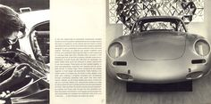 1964 Porsche 356C U.S. brochure page 4 & 5