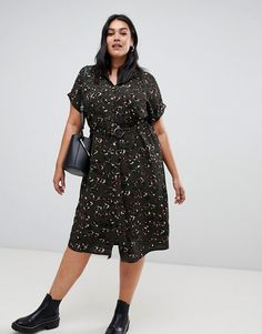 Buy New Look Curve shirt dress in khaki leopard at ASOS. With free delivery and return options (Ts&Cs apply), online shopping has never been so easy. Get the latest trends with ASOS now. How To Wear Leggings, Peach Blush, Look Plus, Casual Skirts, Dress Codes, Trendy Wedding, Business Casual, Plus Size Outfits, Casual Wear