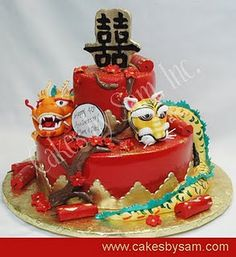 1000 Images About Chinese New Year Cakes On Pinterest