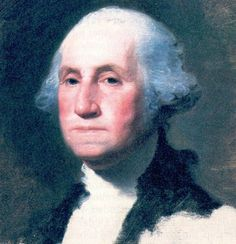 George Washington portrait.  Painted by Gilbert Stuart.  Used for the image on the one dollar bill.  Painting, the Athenaeum, is in Boston's Museum of Fine Arts.