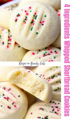 Italian Cookie Recipes, Easy Homemade Cookie Recipes, Italian Christmas Cookie Recipes, Easy Baking Recipes, Best Cookie Recipes, Best Dessert Recipes, Fun Desserts, Italian Cookies, Lemon Desserts