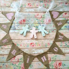 Sevgili @perihome için hazırladığım isme özel banner  güzel günlerde kullanın inşallah  #banner #bunting #dekor #dekoratif #burlap #doğumgünü #düğün #evim #mutfakdekor #mutfak #handmade #handmadewithlove #pazartesi #sunumönemlidir #sunum #sweet #sweethome #homesweethome #home #likeforlike #vintage #vintagestyle #burlapbunting