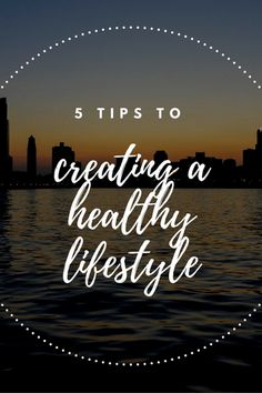 Here are 5 tips you can try to create a healthier lifestyle.